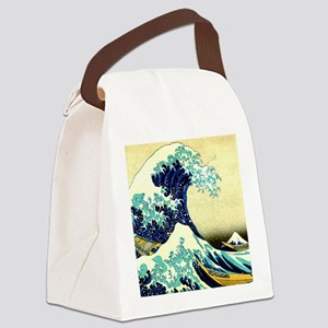 The Great Wave off Kanagawa Canvas Lunch Bag