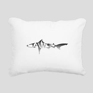 JAWS Rectangular Canvas Pillow