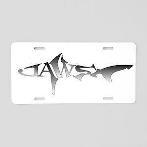 JAWS Aluminum License Plate