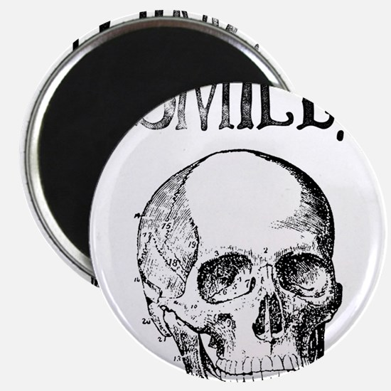 Smile! Skull smiling Magnets