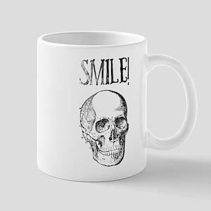 Smile! Skull smiling Mugs