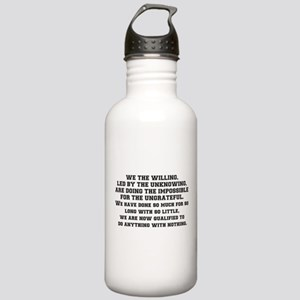 WE THE WILLING Stainless Water Bottle 1.0L