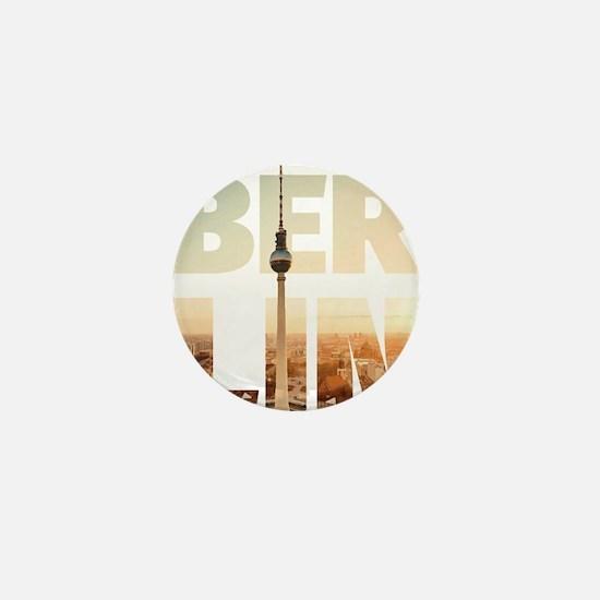 BERLIN CITY – Typo Mini Button