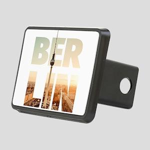 BERLIN CITY – Typo Rectangular Hitch Cover
