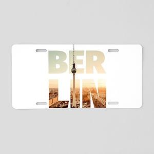 BERLIN CITY – Typo Aluminum License Plate
