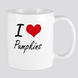 I Love Pumpkins Mugs