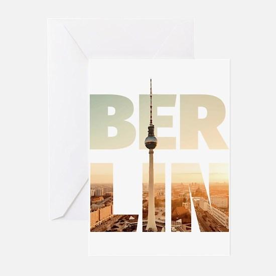 BERLIN CITY – Typo Greeting Cards