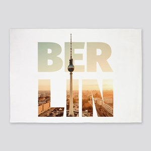 BERLIN CITY – Typo 5'x7'Area Rug