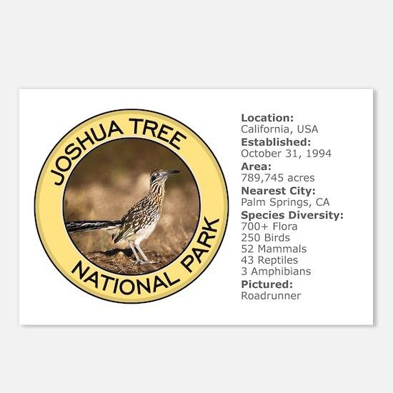 Joshua Tree NP (Roadrunner) Postcards (Package of