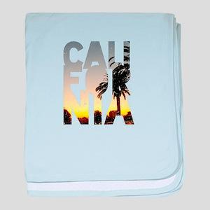 CA for California - Typo baby blanket