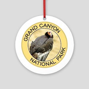 Grand Canyon NP (California Condor) Ornament (Roun
