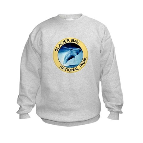 Glacier Bay NP (Humpback Whale) Kids Sweatshirt