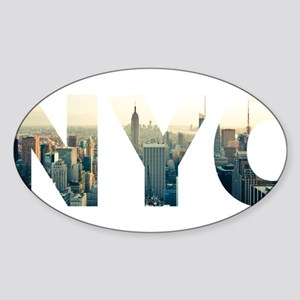 NYC for NEW YORK CITY - Typo Sticker