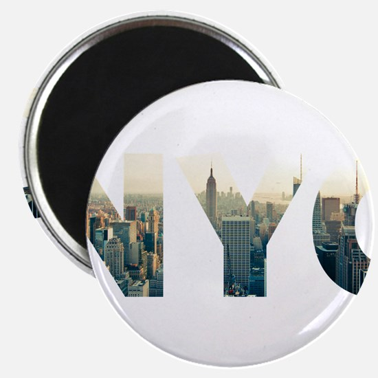 NYC for NEW YORK CITY - Typo Magnets