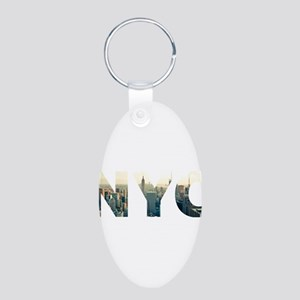 NYC for NEW YORK CITY - Typo Keychains