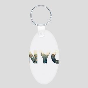 NYC for NEW YORK CITY - Typo Keychains
