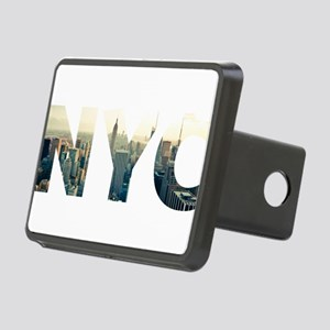 NYC for NEW YORK CITY - Ty Rectangular Hitch Cover