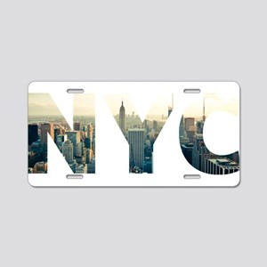 NYC for NEW YORK CITY - Typ Aluminum License Plate
