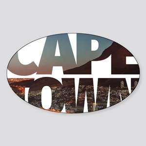 CAPE TOWN CITY – Typo Sticker