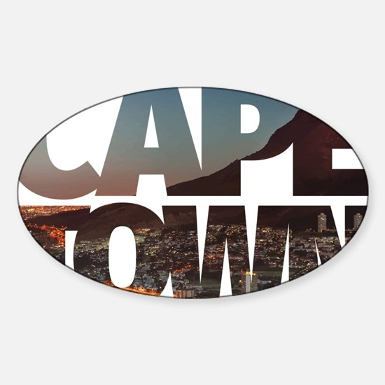 CAPE TOWN CITY – Typo Decal