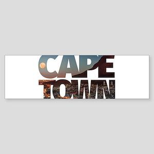 CAPE TOWN CITY – Typo Bumper Sticker