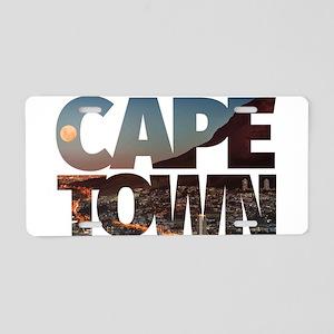 CAPE TOWN CITY – Typo Aluminum License Plate