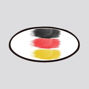 Germany Flag paint-brush Patch