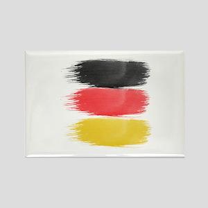 Germany Flag paint-brush Magnets