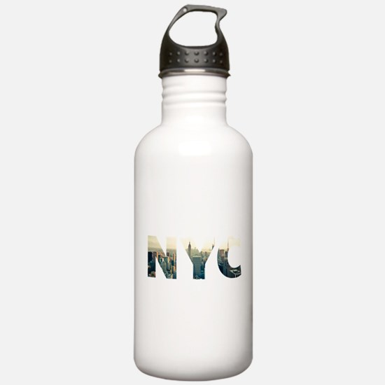 NYC for NEW YORK CITY Water Bottle