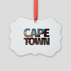 CAPE TOWN CITY – Typo Picture Ornament