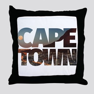 CAPE TOWN CITY – Typo Throw Pillow