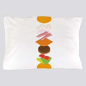 The perfect burger Pillow Case