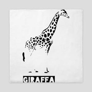 Giraffe aka Giraffa Queen Duvet