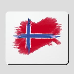 Svalbard Flag Mousepad