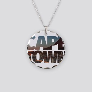 CAPE TOWN CITY – Typo Necklace Circle Charm
