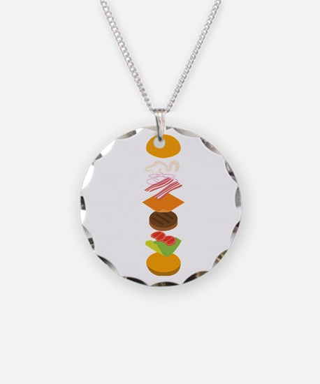 The perfect burger Necklace
