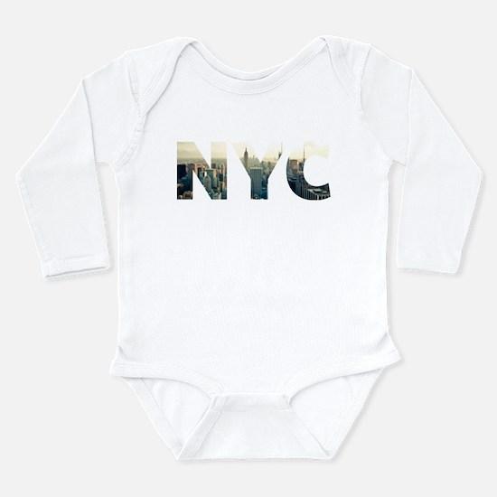 NYC for NEW YORK CITY - Typo Body Suit