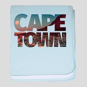 CAPE TOWN CITY – Typo baby blanket