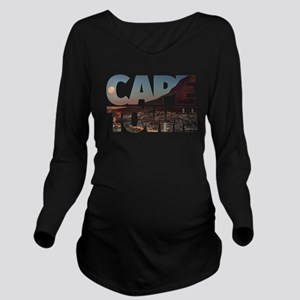 CAPE TOWN CITY – Typ Long Sleeve Maternity T-Shirt