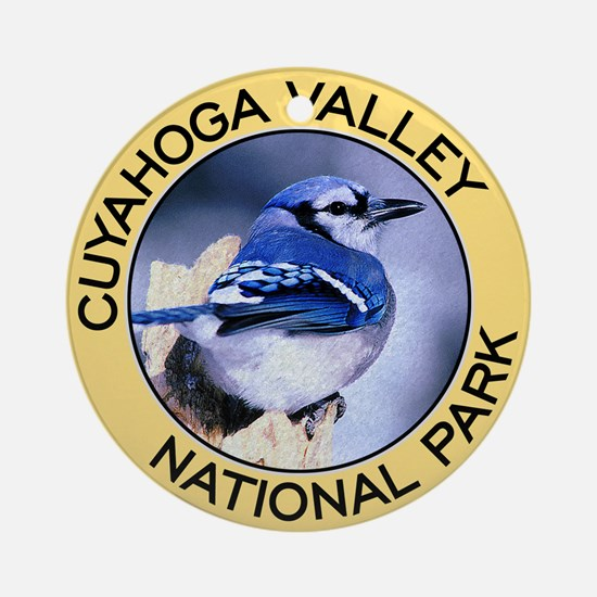 Cuyahoga Valley NP (Blue Jay) Ornament (Round)