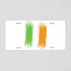 Ireland Flag Dublin Flag Aluminum License Plate