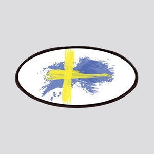 Sweden Flag Stockholm Patch