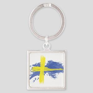 Sweden Flag Stockholm Keychains