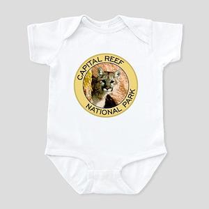 Capital Reef NP (Mountain Lion) Infant Bodysuit