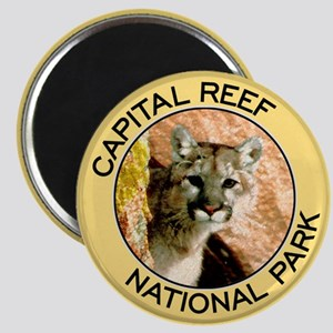 Capital Reef NP (Mountain Lion) Magnet