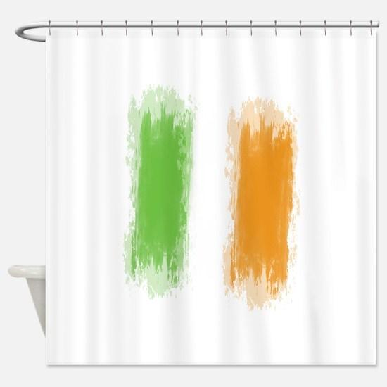 Ireland Flag Dublin Flag Shower Curtain