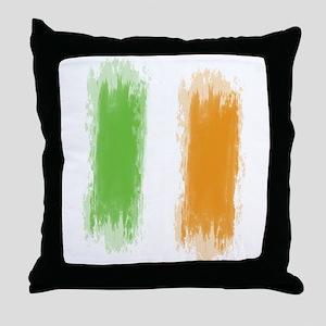 Ireland Flag Dublin Flag Throw Pillow