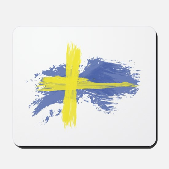 Sweden Flag Stockholm Mousepad