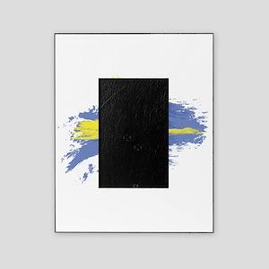 Sweden Flag Stockholm Picture Frame
