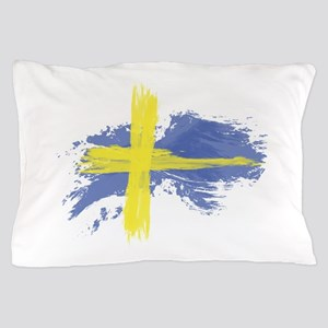 Sweden Flag Stockholm Pillow Case